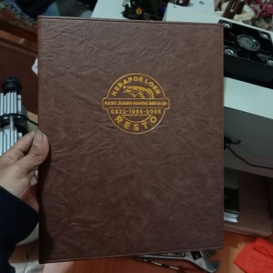 Harga cover buku menu cafe | HARGALOKA.COM