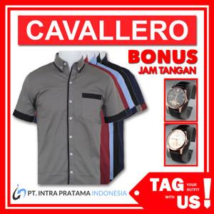 Harga kemeja pria lengan pendek tagus cavallero   all | HARGALOKA.COM