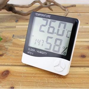 Katalog Thermometer Termometer Htc Suhu Hygrometer Clock Temperature Humidity Htc 1 Katalog.or.id