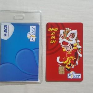 Harga kartu flazz bca gen 2 edisi imlek 2020 barongsai   HARGALOKA.COM