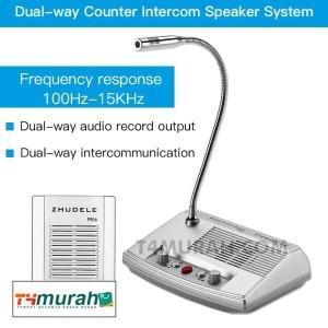 Harga microphone dan speaker loket dua arah | HARGALOKA.COM