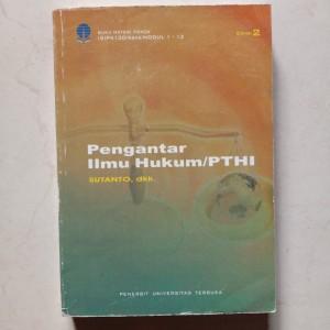 Harga buku pengantar ilmu hukum pthi penerbit universitas | HARGALOKA.COM