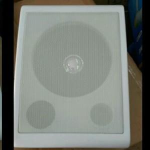 Harga speaker pasif kotak warna putih 100volt 8 | HARGALOKA.COM