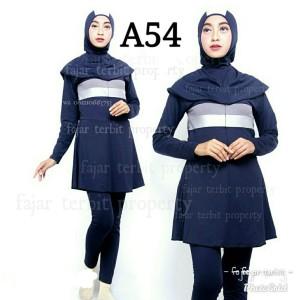 Harga baju renang muslimah dewasa wanita remaja   a56 | HARGALOKA.COM