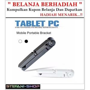Harga portable fold up ipad tablet stand holder samsung tab lenovo mount   HARGALOKA.COM