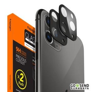 Harga camera lens protector iphone 11 pro max 11 spigen tempered glass   11 pro 11promax   HARGALOKA.COM