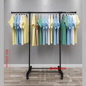 Harga stand hanger single rak serbaguna rak buju portable gantungan 4 roda   silver ada | HARGALOKA.COM
