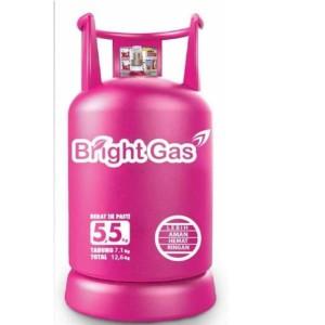 Harga tabung lpg bright gas pertamina 5 5 kg isi | HARGALOKA.COM