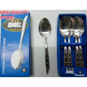 Harga sendok stainless steel flatware 34 doll 34 high | HARGALOKA.COM