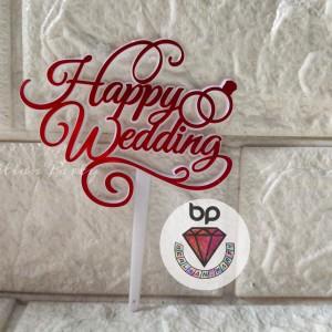 Info Happy Wedding Anniversary Acrylic Cake Topper Katalog.or.id