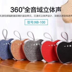 Harga speaker bluetooth speaker nb 100 apple wireless   HARGALOKA.COM