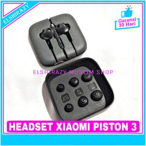 Harga headset earphone xiaomi piston 3 original 100 with mic   | HARGALOKA.COM