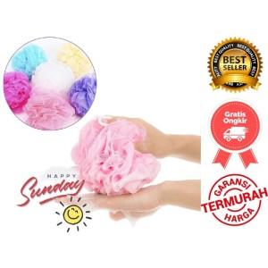 Harga Spon Mandi Kepang 90gr Pelangi Bodywash Panjang Sponge Bath Katalog.or.id