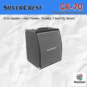 Harga amplifier keyboard silvercrest ck70 ampli ck 70 speaker drum | HARGALOKA.COM