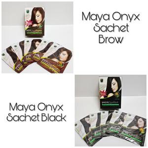 Harga Semir Rambut Nutup Uban Maya Onyx Termurah Brown Katalog.or.id