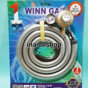 Harga regulator meter selang paket winn | HARGALOKA.COM