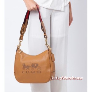 Harga coach jes leather hobo brown   ori 100 | HARGALOKA.COM