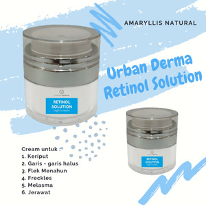 Harga cream malam retinol solution urban derma | HARGALOKA.COM