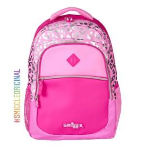 Harga tas sekolah anak smiggle block backpack pink ransel smiggle | HARGALOKA.COM