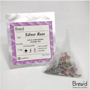 Harga silverrose   french rose lavender white tea teabag   teh putih   | HARGALOKA.COM