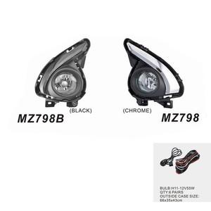 Harga foglamp lampu kabut mazda 2 2015 aksesoris mobil mz798 black | HARGALOKA.COM