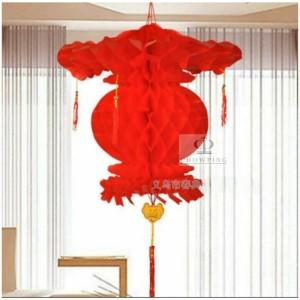 Katalog Lampion Plastik Merah Tenlung Dekorasi Imlek Sincia 20cm Katalog.or.id
