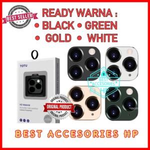 Harga iphone 11 pro max 6 5 totu ring pelindung lens camera tempered   HARGALOKA.COM
