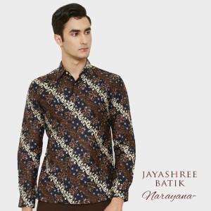 Harga jayashree batik slimfit narayana long sleeve   | HARGALOKA.COM