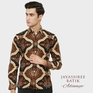 Harga jayashree batik slimfit adinaya long sleeve   | HARGALOKA.COM
