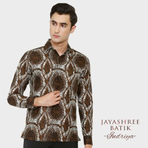Harga jayashree batik regfit indriya long sleeve   | HARGALOKA.COM