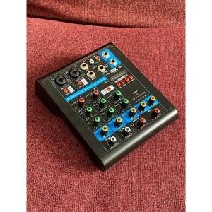 Harga usb mini portable live audio mixer karaoke dj 4 ch bluetooth | HARGALOKA.COM