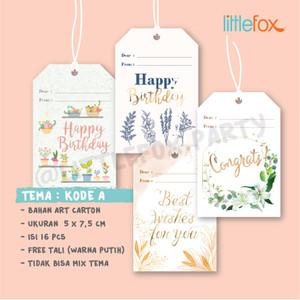 Harga birthday card tag kartu ucapan ulang tahun gift tag   kode   HARGALOKA.COM