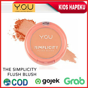 Harga you the simplicity flush blush original bpom   pretty | HARGALOKA.COM