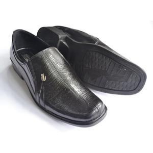 Harga sepatu pantofel kerja kantor pria formal crocodile kulit sapi asli 005   38 | HARGALOKA.COM