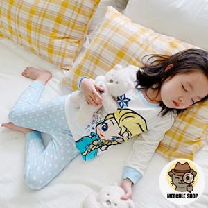 Harga setelan baju tidur piyama anak kartun disney snow white elsa frozen   elsa frozen | HARGALOKA.COM