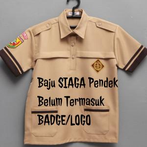 Harga baju pramuka siaga lengan pendek seragam sekolah   6 7 | HARGALOKA.COM
