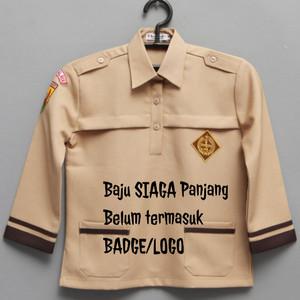Harga baju sekolah pramuka siaga panjang seragam sekolah   6 7 | HARGALOKA.COM