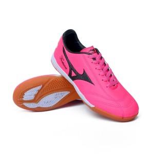 Harga sepatu futsal pria mizuno futsal fortuna pink made in vietnam murah   | HARGALOKA.COM