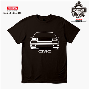 Harga kaos baju mobil honda civic wonder kaos otomotif   | HARGALOKA.COM