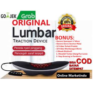 Harga lumbar traction device dr qyu bantal kesehatan untuk sakit   HARGALOKA.COM