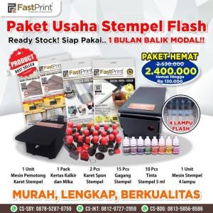 Harga paket hemat mesin stempel flash 4 lampu import | HARGALOKA.COM