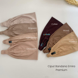 Harga nabnib inner bandana ciput kaos adem import premium i ciput emira   | HARGALOKA.COM