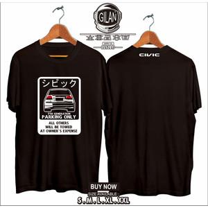 Harga kaos baju mobil honda civic es 2 es2 park only jepang japan | HARGALOKA.COM