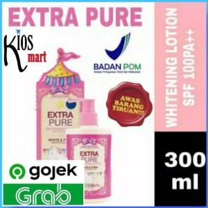 Harga bpom extra pure spf100 pa whitening handbody bodylotion   HARGALOKA.COM