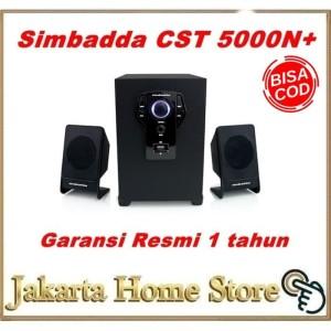Harga speaker aktif simbadda cst 5000   bluetooth usb radio aux   HARGALOKA.COM
