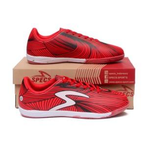 Harga sepatu futsal pria specs futsal barricada ultra merah murah   | HARGALOKA.COM
