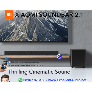 Harga xiaomi soundbar 2 1 with 4 speakers build in and wired | HARGALOKA.COM