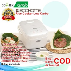 Harga rice cooker low carbo ecohome magic com jar penanak nasi | HARGALOKA.COM