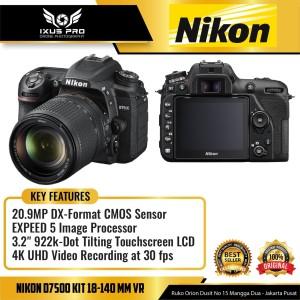 Harga nikon d7500 kit 18 140 mm vr kit kamera nikon 7500 | HARGALOKA.COM