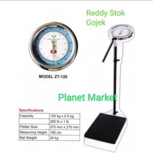 Harga timbangan badan smic gea zt 120 timbangan stature meter ukur tinggi   HARGALOKA.COM